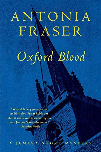 9780393318241: Oxford Blood: A Jemima Shore Mystery (Jemima Shore Mysteries)