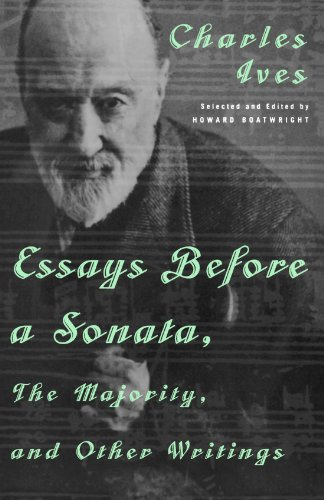 9780393318302: Essays Before a Sonata, The Majority, and Other Writings