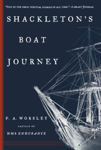 9780393318647: Shackleton's Boat Journey