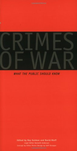 9780393319149: Crimes of War: What the Public Should Know