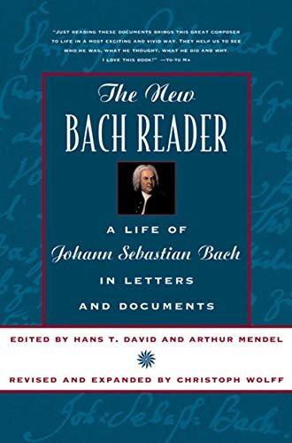 9780393319569: The New Bach Reader the New Bach Reader: Life of Johann Sebastian Bach in Letters and Documents