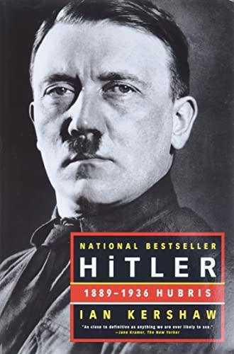 9780393320350: Hitler: 1889-1936: Hubris