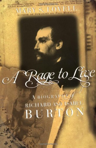 9780393320398: A Rage to Live: A Biography of Richard and Isabel Burton