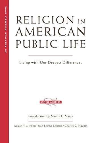 9780393322064: Religion in American Public Life: Living with Our Deepest Differences (American Assembly)