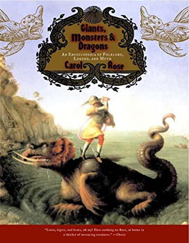 9780393322118: Giants, Monsters, and Dragons: An Encyclopedia of Folklore, Legend, and Myth