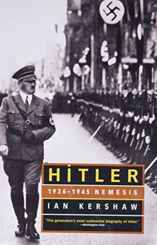 9780393322521: Hitler: 1936-1945 Nemesis
