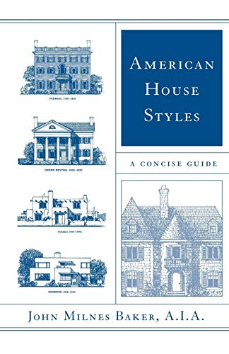 9780393323252: American House Styles: A Concise Guide