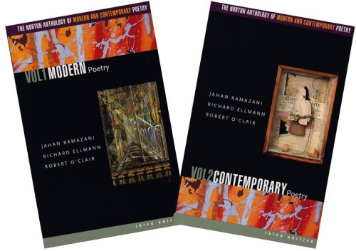 9780393324297: The Norton Anthology of Modern and Contemporary Poetry