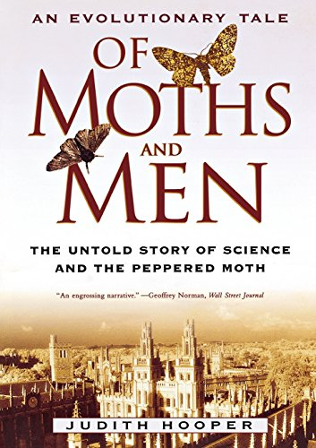 9780393325256: Of Moths and Men: An Evolutionary Tale: The Untold Story of Science and the Peppered Moth