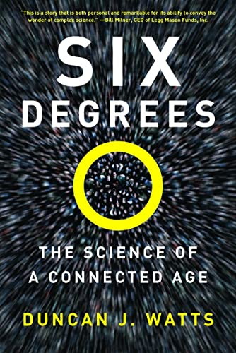 9780393325423: Six Degrees: The Science of a Connected Age