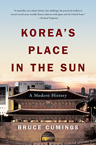 9780393327021: Korea's Place in the Sun: A Modern History (Updated)
