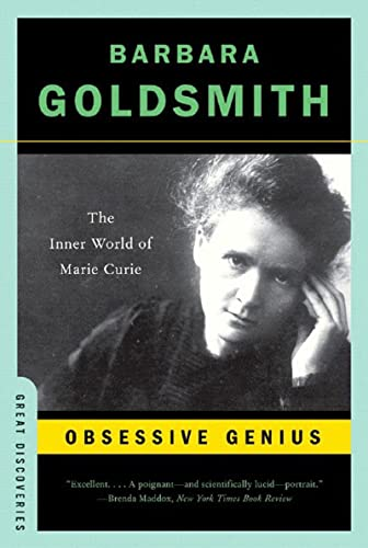 9780393327489: Obsessive Genius: The Inner World of Marie Curie (Great Discoveries)