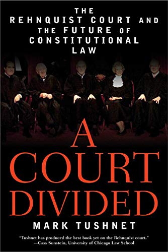 9780393327571: A Court Divided: The Rehnquist Court and the Future of Constitutional Law