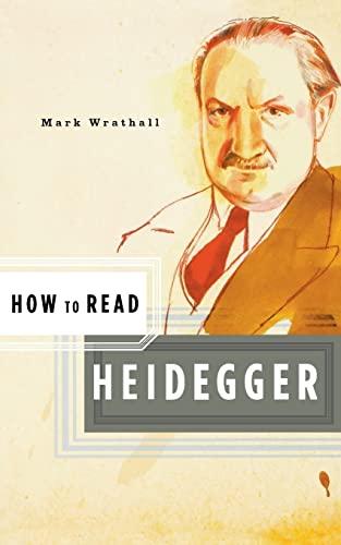 9780393328806: How to Read Heidegger (How to Read)