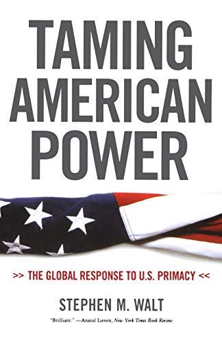 9780393329193: Taming American Power: The Global Response to U.S. Primacy