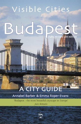 9780393330113: Visible Cities Budapest: A City Guide
