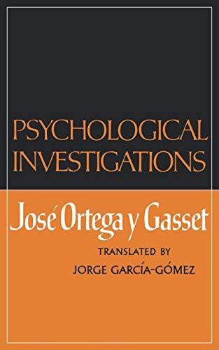 9780393331011: Psychological Investigations