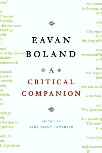 9780393332049: Eavan Boland: A Critical Companion