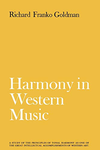 9780393332551: Harmony in Western Music