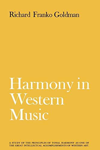 9780393332551: Harmony in Western Music
