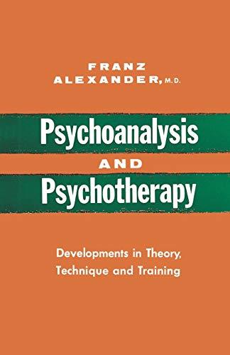9780393334630: Psychoanalysis and Psychotherapy