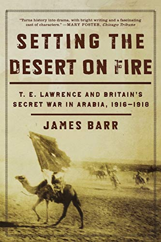 9780393335279: Setting the Desert on Fire: T. E. Lawrence and Britain's Secret War in Arabia, 1916-1918