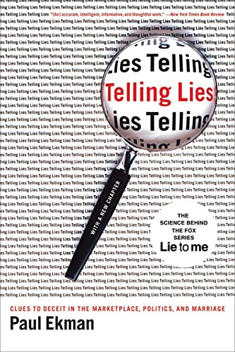 9780393337457: Telling Lies: Clues to Deceit in the Marketplace, Politics, and Marriage