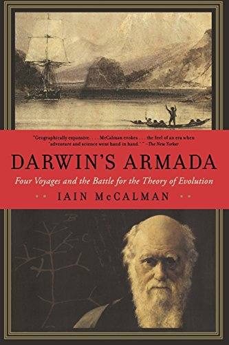 9780393338775: Darwin's Armada: Four Voyages and the Battle for the Theory of Evolution