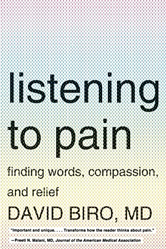 9780393340259: Listening to Pain: Finding Words, Compassion, and Relief
