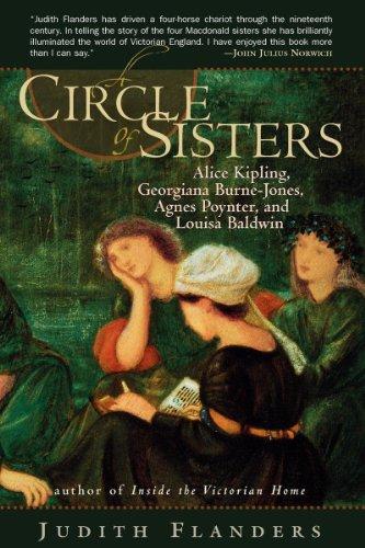 9780393343106: A Circle of Sisters: Alice Kipling, Georgiana Burne-Jones, Agnes Poynter, and Louisa Baldwin