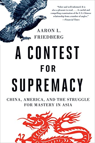 A Contest for Supremacy: China, America, and the Struggle for Mastery in Asia (Paperback): Aaron L....