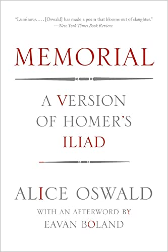 9780393347272: Memorial: A Version of Homer's Iliad