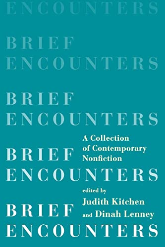 9780393350999: Brief Encounters: A Collection of Contemporary Nonfiction