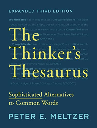 9780393351255: The Thinker's Thesaurus: Sophisticated Alternatives to Common Words (Expanded Third Edition)