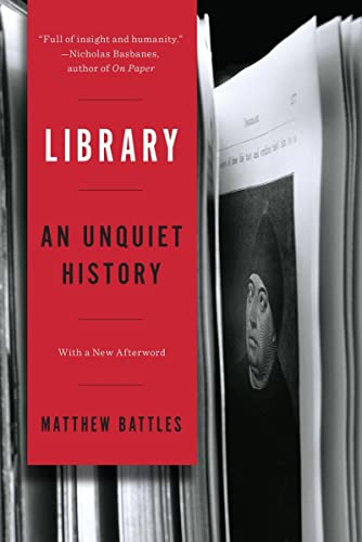 9780393351453: Library: An Unquiet History