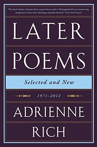 9780393351835: Later Poems: Selected and New: 1971-2012