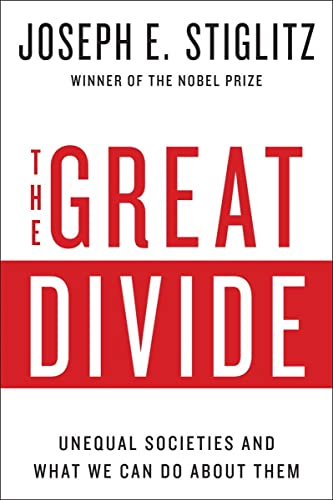 9780393352184: The Great Divide: Unequal Societies and What We Can Do About Them