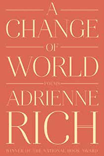 9780393352573: A Change of World: Poems
