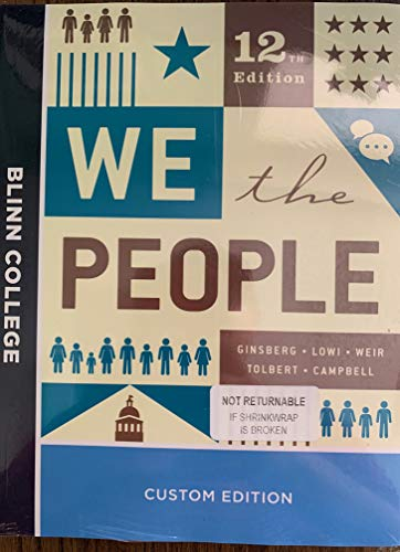 9780393431261: WE THE PEOPLE CUSTOM BLINN EDITION