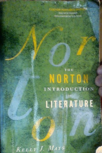 9780393521061: The Norton Introduction to Literature (Custom Portable Edition) University of Nevada, Las Vegas