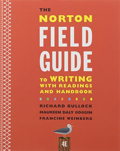 9780393573503: The Norton Field Guide to Writing With Readings + Handbook + They Say / I Say