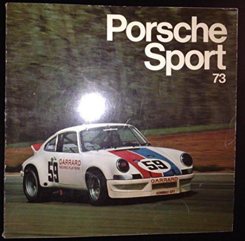 9780393600179: Porsche Sport 73