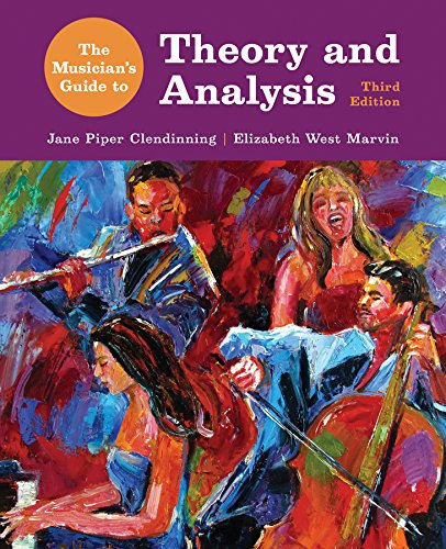 9780393600483: The Musician's Guide to Theory and Analysis 3E with Total Access Registration Card