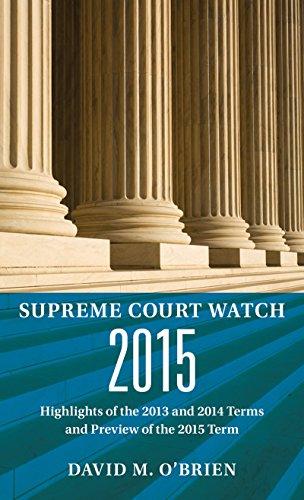 9780393602296: Supreme Court Watch 2015: An Annual Supplement