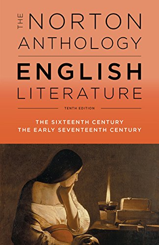 9780393603033: The Norton Anthology of English Literature: The Sixteenth Century the Early Seventeenth Century