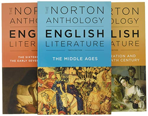 9780393603125: The Norton Anthology of English Literature