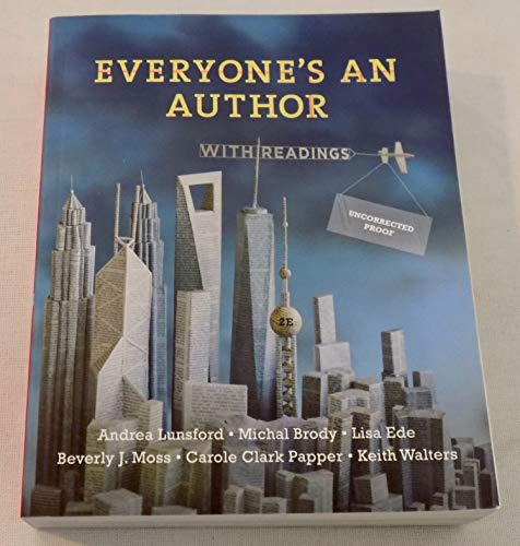 Everyone's an Author 2nd edition: Lunsford