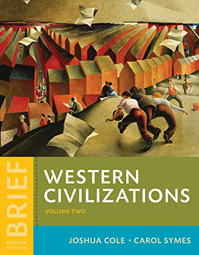9780393614893: Western Civilizations: Their History & Their Culture: 2