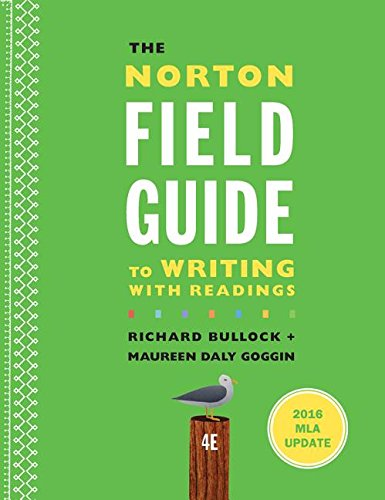 9780393617375: The Norton Field Guide to Writing with 2016 MLA Update: with Readings