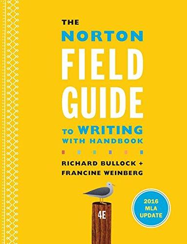9780393617382: NORTON FGT WRITING W/2016 MLA